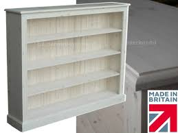 solid pine bookcase 4ft x 5ft handcrafted u0026 white washed