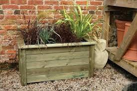 large wooden planters wooden deck planter box ideas wooden