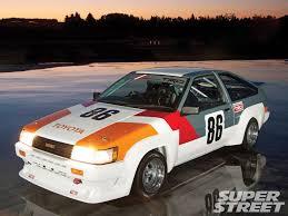 1984 Toyota Corolla Levin Gtv Back To The Future Super Street