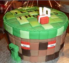 borther u0027s cake minecraft birthday cake birthday
