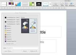 colour themes for excel create a custom theme colour or color scheme for word powerpoint