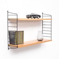original 1960s string shelf elm