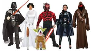 cosplay star wars costumes princess leia slave darth vader maul