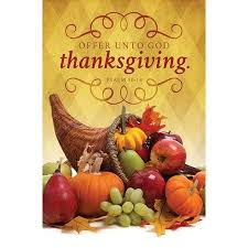 offer unto god thanksgiving psalm 50 14 bulletins 100