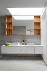 mirror cabinet bathroom with scandinavian modern bathroom