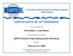 certificate free templates certificate of attendance template free download where to find