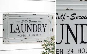 Laundry Room Signs Decor Room Signs Laundry Room Plaques Vintage Laundry Sign Farmhouse
