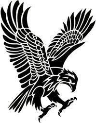 eagle tribal tattoo designs big tribal eagle tattoo on back