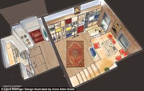 Set Design Floor Plan Girls Apartment Floor Plans Revealed By Hbo Set Designer Daily