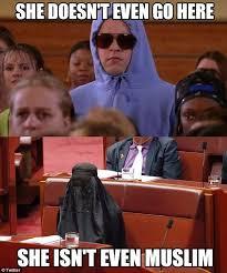 Burka Meme - pauline hanson s burqa stunt mocked by social media users daily