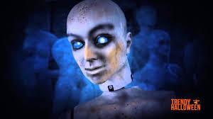 blue wig spirit halloween animated mannequin prop 6ft via trendy halloween youtube