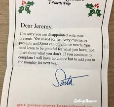 the most intense letters to santa we u0027ve ever seen collegehumor post