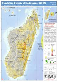 Canada Population Density Map by Large Detailed Population Density Map Of Madagascar Madagascar