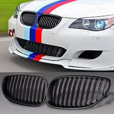 bmw e60 accessories 1 pair abs plastic racing grills auto accessories for bmw 5 series