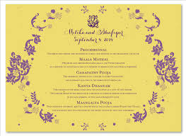 indian wedding program template unique wedding programs on seeded paper vintage hindu by