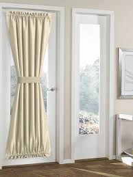 Small Tension Rods For Sidelights by Curtains 42 Inch Long Curtains Small Door Window Curtains