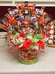 Candy Basket Pretentious Christmas Candy Bouquet Ideas Marvelous 35 99 Via Etsy