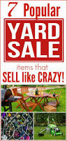 Organizing A Garage Sale - 7 popular yard sale items that sell like crazy making lemonade