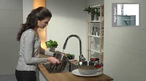 cento xl kitchen mixer by hansgrohe youtube