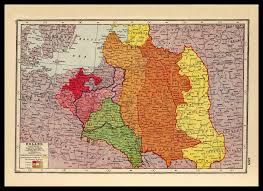 Map Of Nd War One Map Of Poland 1914 1918