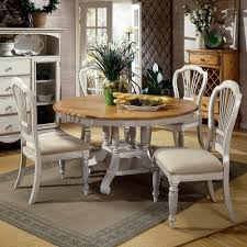 wilshire wood round oval dining table u0026 chairs in pine antique