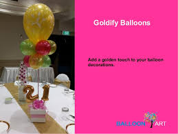 balloons decorations for parties in sydney