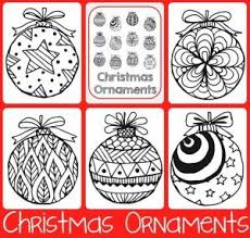 167 best coloring christmas ornaments plus images on
