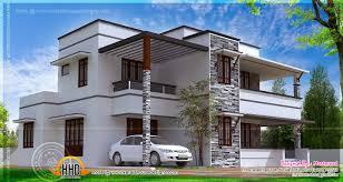 3 Bedroom Contemporary Design 3 Bedroom Contemporary Villa Kerala Home Design And Floor Plans