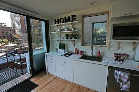 tiny houses in the big city housing lab taking 385 square foot