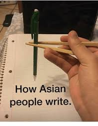 How To Write Memes - how asian people write meme on sizzle