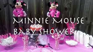 baby shower minnie mouse theme decorating of party