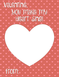 free valentines cards you make my heart sing card printable smashed peas carrots