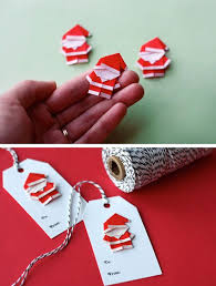 Easy Christmas Decorations To Make At Home Best 25 Christmas Origami Ideas On Pinterest Diy Origami