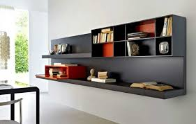 gorgeous hand crafted wall hanging bookcase shelves wooden it be