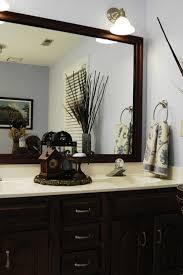 Bathroom Mirrors Houzz Framed Bathroom Mirror Houzz Inside Inspirations 1