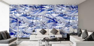 Wohnzimmer Orange Blau Vliestapeten Nach Farben Sortiert