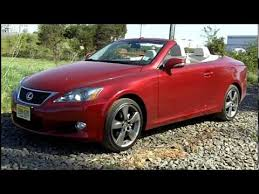 2010 lexus is 250 reliability 2010 lexus 250 isc convertible road test review by drivin ivan