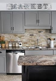 How To Paint Your Kitchen Cabinets by Best 25 Repainted Kitchen Cabinets Ideas On Pinterest Painting