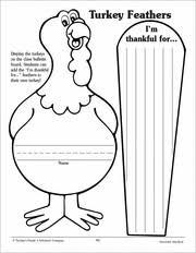 i u0027m thankful for turkey writing feathers turkey feathers
