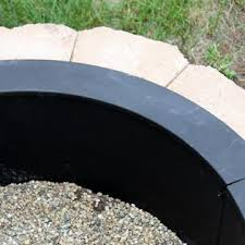 Firepit Ring Sunnydaze Decor Nb Fprhd39 Heavy Duty Pit Ring Liner Diy
