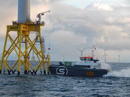 wind farm and crew transfer vessels sure wind marine