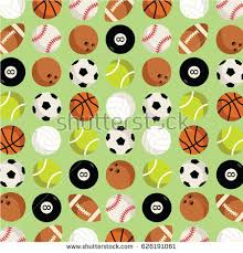 football wrapping paper background wrapping paper print gift sport stock vector 626191061