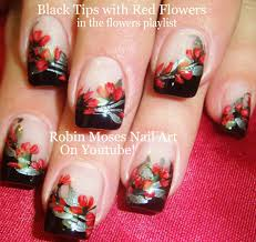 nail art designs nail art tutorial diy flower nail design