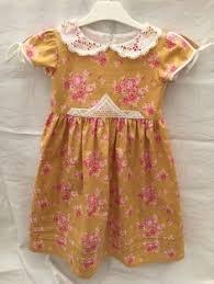 toddler dress little girls dress size 3t with peter pan collar