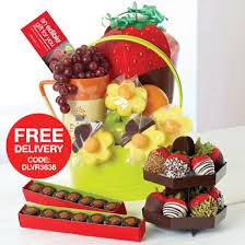 fruit arrangements delivered edible arrangements fruit baskets breast cancer awareness bouquet