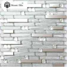 glass tile kitchen backsplashes pictures metal and white tst glass metal tile vintage black and yellow silver stainless steel