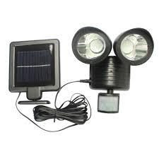 aliexpress com buy 22 led twin head solar security light solar