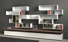 modern bookshelf stylish on other intended 17 modern bookshelf
