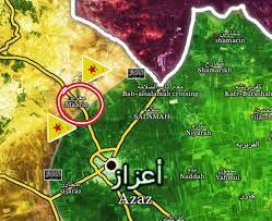 Azaz Syria Via Google Maps by Syrian War Daily U2013 20th Of February 2017 Syrian War Daily