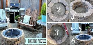 Diy Backyard Fire Pit Ideas 40 Diy Fire Pit Ideas Home Design Garden U0026 Architecture Blog